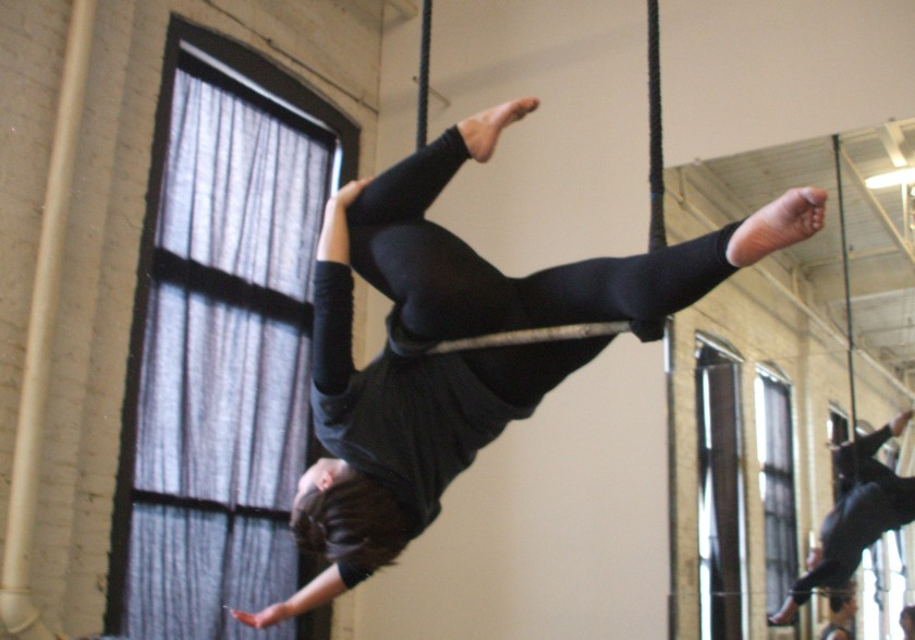 I was so sure I couldn't do this. Most of my classmates let go of their leg, but I refused.